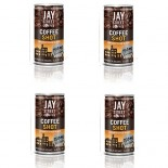 [Jay Street Coffee] Ready to Drink Coffee Shot, Unsweetend Black