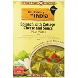 [Kitchens Of India] Indian Food Soups, Ramens, Chilis Palak Paneer, Spin/Ctg Chs/Sce