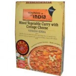 [Kitchens Of India] Indian Food Packaged Grocery/Mixes Navratan Korma, Mxd Veg Cury w/Ctg Chs
