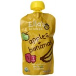 [Ella`S Kitchen] Baby Food Stage 1-Pouches Apple & Banana  At least 95% Organic