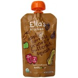 [Ella`S Kitchen] Baby Food Stage 1-Pouches Butternut Carrot Apple Prunes  At least 95% Organic