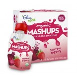 [Plum Kids] Fruit & Veggie Mashups Beetbox Berry  At least 95% Organic