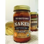[Naked Infusions] Gourmet Salsa Fire Roasted Garlic  At least 95% Organic