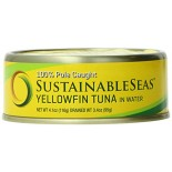 [Sustainable Seas] Tuna In Water Yellowfin