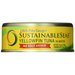 [Sustainable Seas] Tuna In Water Yellowfin, No Salt Added