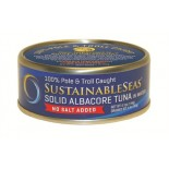 [Sustainable Seas] Tuna In Water Wild Albacore, No Salt