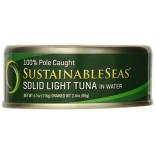 [Sustainable Seas] Tuna In Water Wild Skipjack Solid Light