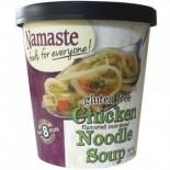 [Namaste Foods] Soup Chicken Noodle, Flvrd Non Meat