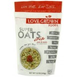 [Love Grown Foods] Hot Oats Cereal, Super Oats, Nuts & Seeds