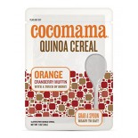 [Cocomama] Quinoa Cereal RTE, Orange Cranberry