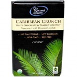 [Coconut Secret] Crunch Bars Caribbean, Wht Choc/Toast Cnut  At least 95% Organic