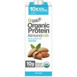 [Orgain] Organic Protein Almond Milk Vanilla, Lightly Sweetened  At least 95% Organic