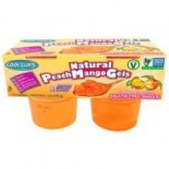 [Cool Cups] All Natural Vegan Gels Peach