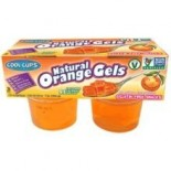 [Cool Cups] All Natural Vegan Gels Orange