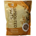 [Living Intentions] Sprouted Nuts Raw, Almonds, Family Size