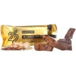 [22 Days Nutrition] Energy Bars Peanut Btr Choc Chip Nirvana  At least 95% Organic
