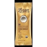 [22 Days Nutrition] Gold Protein Bars Coconut Chocolate Chip  At least 95% Organic
