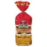 [Canyon Bakehouse]  Bagels,Plain,GF