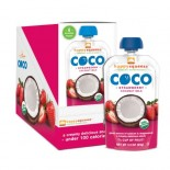 [Happy Squeeze] Coconut Milk Coco Strawberry  At least 95% Organic