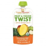 [Happy Squeeze] Fruit & Veggie Twist Apple Mango Kale  At least 95% Organic