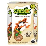 [Sneakz Organic] Milkshake, Yummy Veggie Nutrition Vanilla  At least 95% Organic
