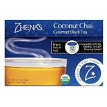 [Zhenas Gypsy Tea] K-Cups Coconut Chai  At least 95% Organic