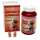 [Vitamin Friends]  Propolis & Echinacea Gummies Berry