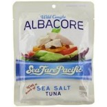 [Seafare Pacific] Wild Caught Albacore Tuna Sea Salt