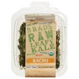 [Brads Raw Foods] Leafy Kale Nacho, Nacho Vegan Cheese  At least 95% Organic