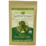 [Just Pure Foods]  Pesto Zucchini Chips  At least 95% Organic