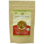 [Just Pure Foods]  Pesto Tomato Chips  At least 95% Organic