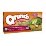 [Qrunch Foods] 4 Pack Veggie Burger, Green Chili