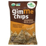[Gimme]  Seaweed Rice Chips, Teriyaki  At least 95% Organic