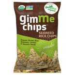 [Gimme]  Seaweed Rice Chips, Wasabi  At least 95% Organic