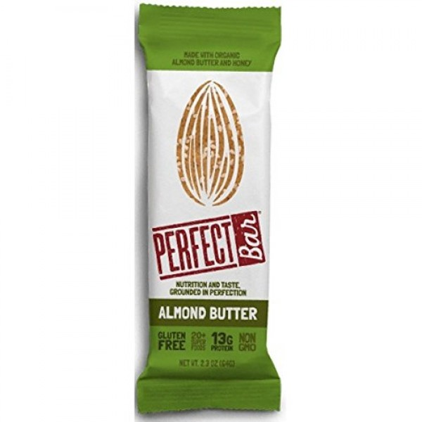 [Perfect Bar]  Almond Butter  At least 70% Organic