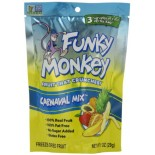 [Funky Monkey Snacks] Crunchy Fruit Banana Pineapple Papaya & Apple