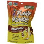 [Funky Monkey Snacks] Crunchy Fruit Banana with Cinnamon  100% Organic