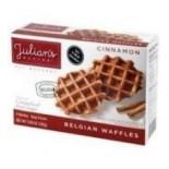 [Julian`S Recipe] Belgian Waffles Cinnamon, 4pk