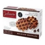 [Julian`S Recipe] Belgian Waffles Chocolate, 4pk