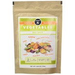 [Bandar Monkey Foods] Crisped Harvest Vegetable Snack Sea Salt, Shareable