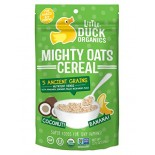 [Little Duck Organics] Mighty Oats Coconut & Banana  At least 95% Organic