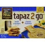 [Mediterranean Snack Food] Tapaz 2 Go Classic Hummus