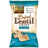 [Mediterranean Snack Food] Baked Lentil Chips Sea Salt