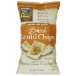 [Mediterranean Snack Food] Baked Lentil Chips Parmesan Garlic