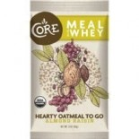 [Core] Hearty Oatmeal To Go Meal, Almond & Raisin w/Whey  At least 95% Organic