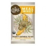 [Core] Hearty Oatmeal To Go Meal, Walnut Banana w/Whey  At least 95% Organic