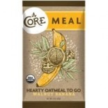 [Core] Hearty Oatmeal To Go Meal, Walnut & Banana  At least 95% Organic