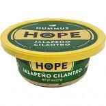 [Hope Hummus] Organic Hummus Jalapeno Cilantro  At least 95% Organic