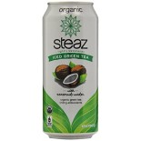 [Steaz] Iced Teaz Iced Green Tea w/Coconut Water  At least 95% Organic