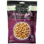 [Saffron Road]  Crunchy Chickpeas, Korean BBQ  At least 70% Organic